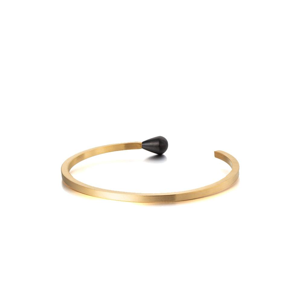 MATCH SHAPE CUFF BANGLE BRACELET - Organic World Nation