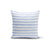 Light Blue Stripes Pillow Cover - Organic World Nation