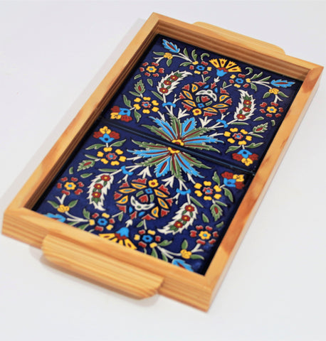 WOOD CERAMIC TRAYS