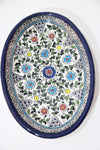 Colorful Floral Long Plate