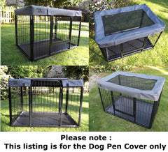 New Cover for Heavy Duty Dog Pen Cage Crate Puppy Whelping Enclosure