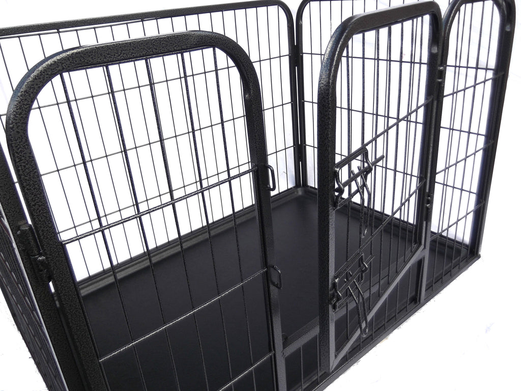 Pawgear Heavy Duty Dog Pen Cage Crate Puppy Enclosure