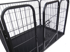 PawGear Heavy Duty Dog Pen Cage Crate Puppy Enclosure Whelping with Plastic Tray