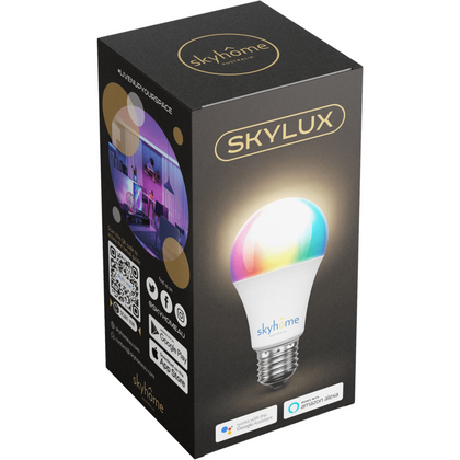 skyhome australia skyLUX smart bulb RGBW 7W compatible with Google Home and Amazon Alexa smart home automation