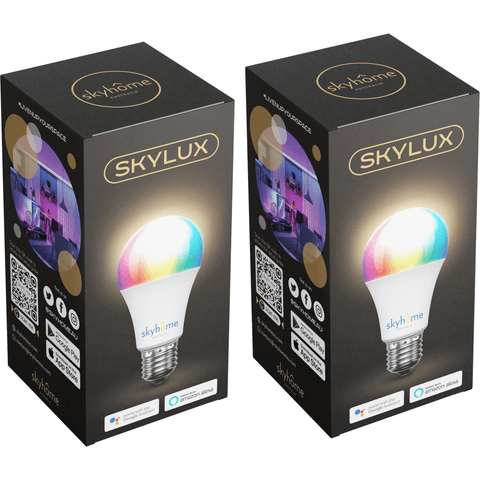skyhome australia skyLUX smart bulb RGBW 7W compatible with Google Home and Amazon Alexa