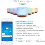 Smart Ultrasonic Oil Diffuser
