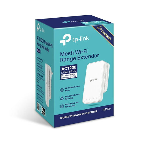 TP-Link AC1200 Wi-Fi Extender RE300