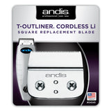 ANDIS CORDLESS T-OUTLINER SQUARE BLADE #04545