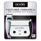 ANDIS CORDLESS T-OUTLINER DEEP TOOTH GTX BLADE #04555
