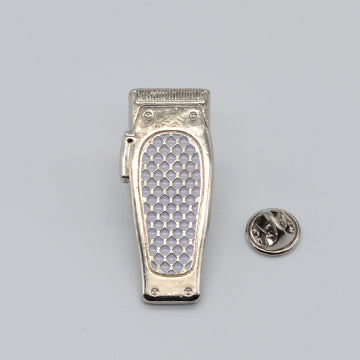 BX LAPEL PIN CLIPPER - SILVER