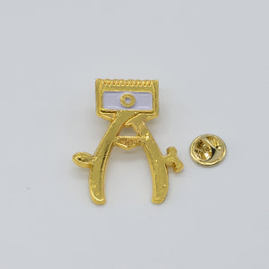 BX LAPEL PIN HAND CLIPPER - GOLD