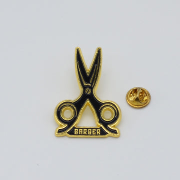 BX LAPEL PIN SHEARS - GOLD