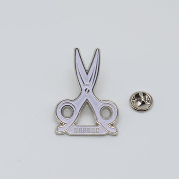 BX LAPEL PIN SHEARS - SILVER