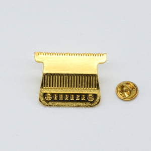 BX LAPEL PIN T-BLADE - GOLD