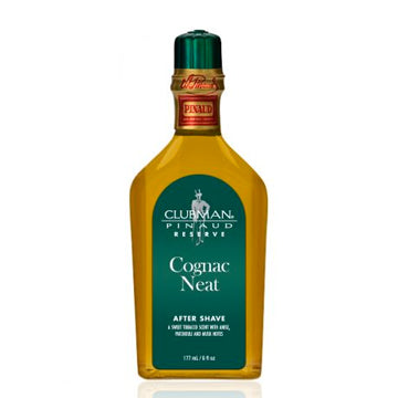 CLUBMAN RESERVE COGNAC NEAT AFTER SHAVE 6 OZ.