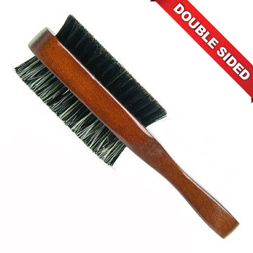 DIANE 100% BOAR DOUBLE SIDE CLUB BRUSH - D8115