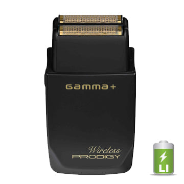 GAMMA+ WIRELESS PRODIGY FOIL SHAVER - BLACK