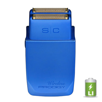GAMMA+ SC WIRELESS PRODIGY FOIL SHAVER - BLUE