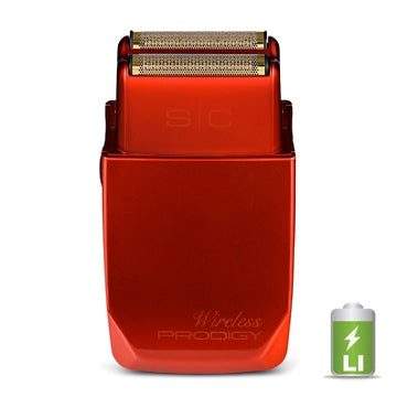 GAMMA+ SC WIRELESS PRODIGY FOIL SHAVER - RED
