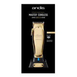 ANDIS GOLD MASTER LIMITED EDITION CORDLESS CLIPPER