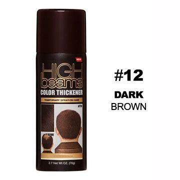 HIGH BEAMS COLOR THICKENER SPRAY - DARK BROWN 2.7 oz