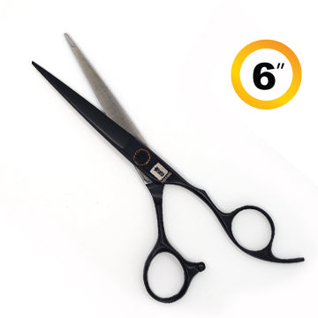 TRUE CUT CLASSIC CUTTING SHEARS BLACK 6