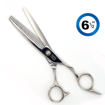 TRUE CUT CLASSIC EURO THINNING (28T) SHEARS CHROME 6.5