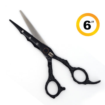 TRUE CUT RETRO CUTTING SHEARS BLACK 6