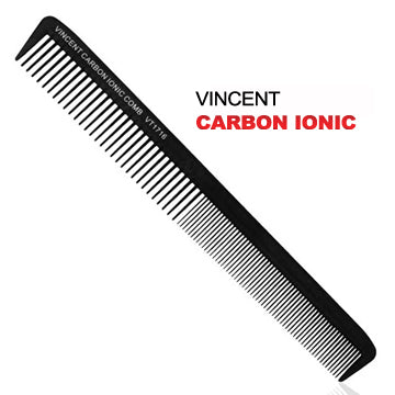 VINCENT CARBON LONG ALL PURPOSE COMB VT1716