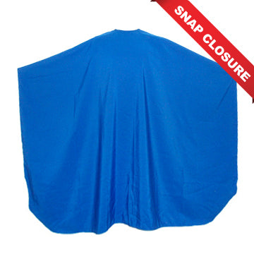 VINCENT CUTTING CAPES SNAP CLOSURE - BLUE