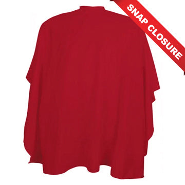 VINCENT CUTTING CAPES SNAP CLOSURE - RED
