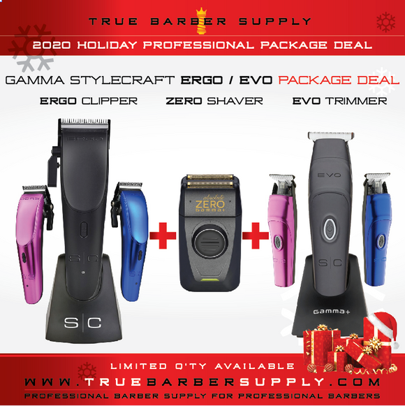 2020 HOLIDAY GAMMA STYLECRAFT ERGO / EVO / ZERO COMBO DEAL