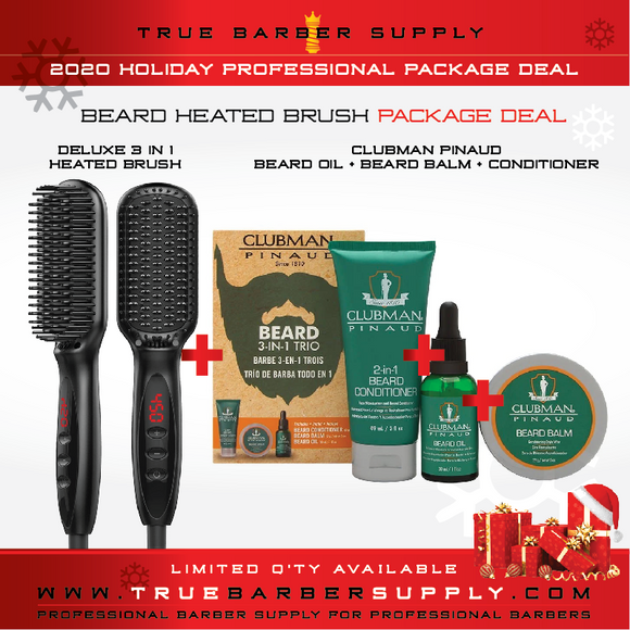 2020 HOLIDAY BEARD MAINTENANCE PACKAGE DEAL