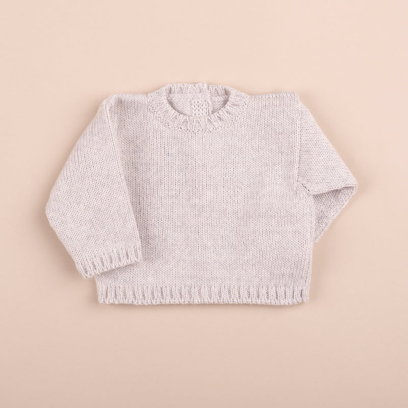 Wool Sweater | Grey