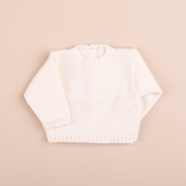Wool Sweater | Ivory