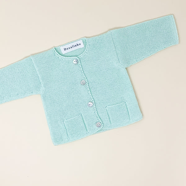 Knitted Overalls | Blue