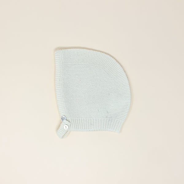 Knitted Baby Bonnet | Ivory