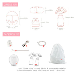 BabyCo™ Double Electric Breast Pump