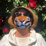 Carol with Tame Tiger Mask