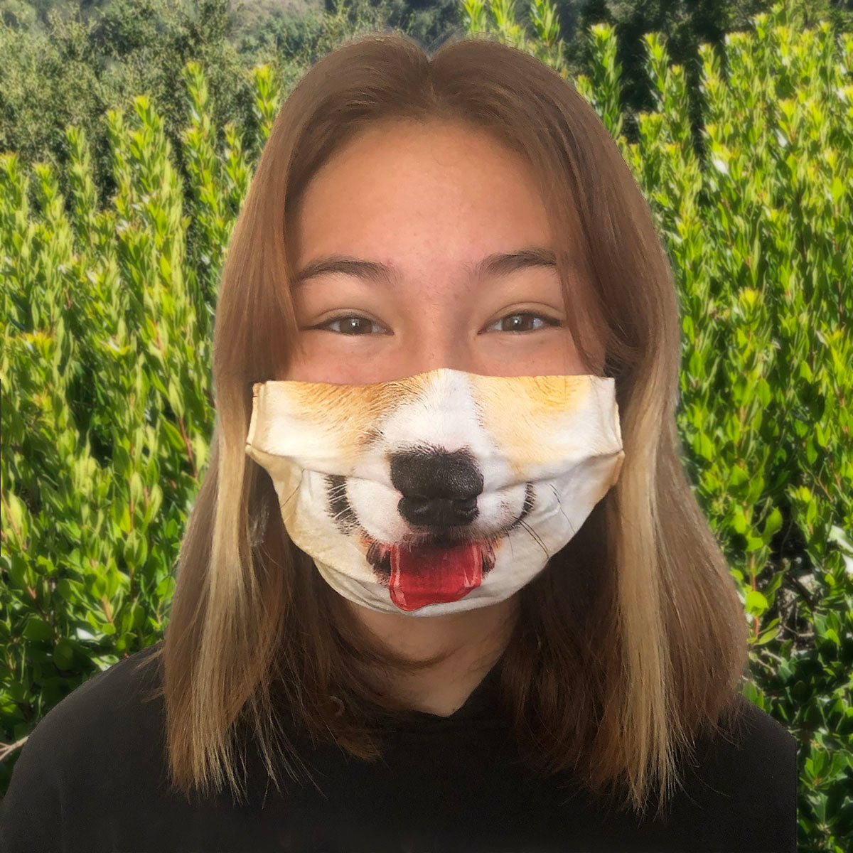 Happy Dog Mask