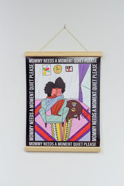 Do Not Disturb Mommy Door Sign