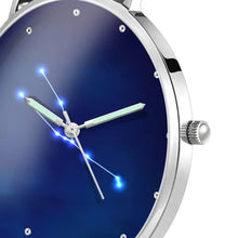 Load image into Gallery viewer, Ladies Watch 36mm-Taurus Constellation Watch With Luminous Pointer Alloy Bracelet