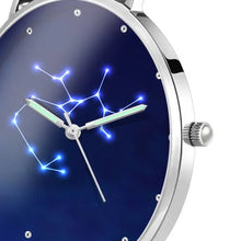 Load image into Gallery viewer, Women's Watch 36mm-Sagittarius Constellation Watch With Luminous Pointer Alloy Bracelet