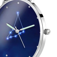 Load image into Gallery viewer, Women's Watch 36mm-Capricorn Constellation Watch With Luminous Pointer Alloy Bracelet