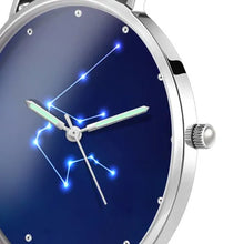 Load image into Gallery viewer, Women's Watch 36mm-Aquarius Constellation Watch With Luminous Pointer Alloy Bracelet