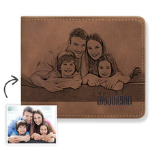 Load image into Gallery viewer, Custom Photo Wallet - I Love My Family