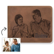 Load image into Gallery viewer, Father's Day Gift - Custom Photo Wallet