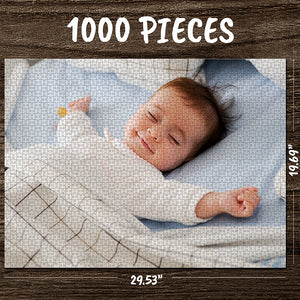 Custom Photo Jigsaw Puzzle Best Gifts For Pet & Love & Family - 35-1000 pieces