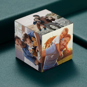 Custom Multi Photo Rubik's Cube - For Your Lovely Kids