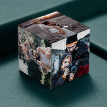 Load image into Gallery viewer, Custom Multi Photo Rubik's Cube - For Good Friends